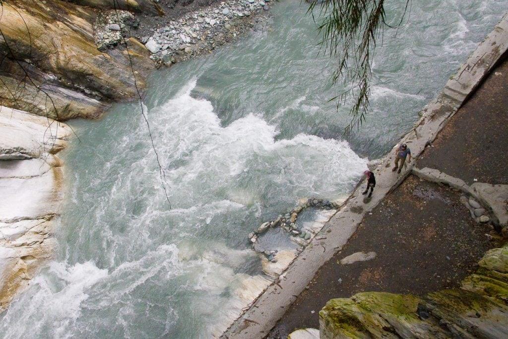 Wenshan hot spring Taiwan