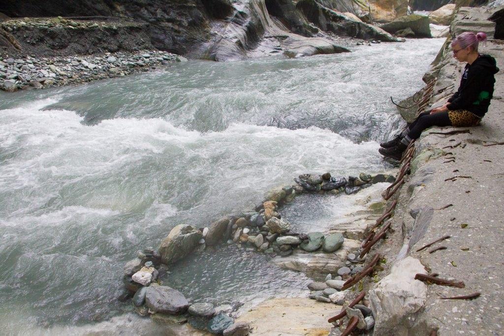 Wenshan Hot Spring, Taroko Gorge, Hualien, Taiwan