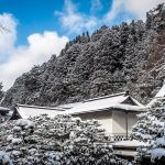 Staying at Eko In Koyasan in winter