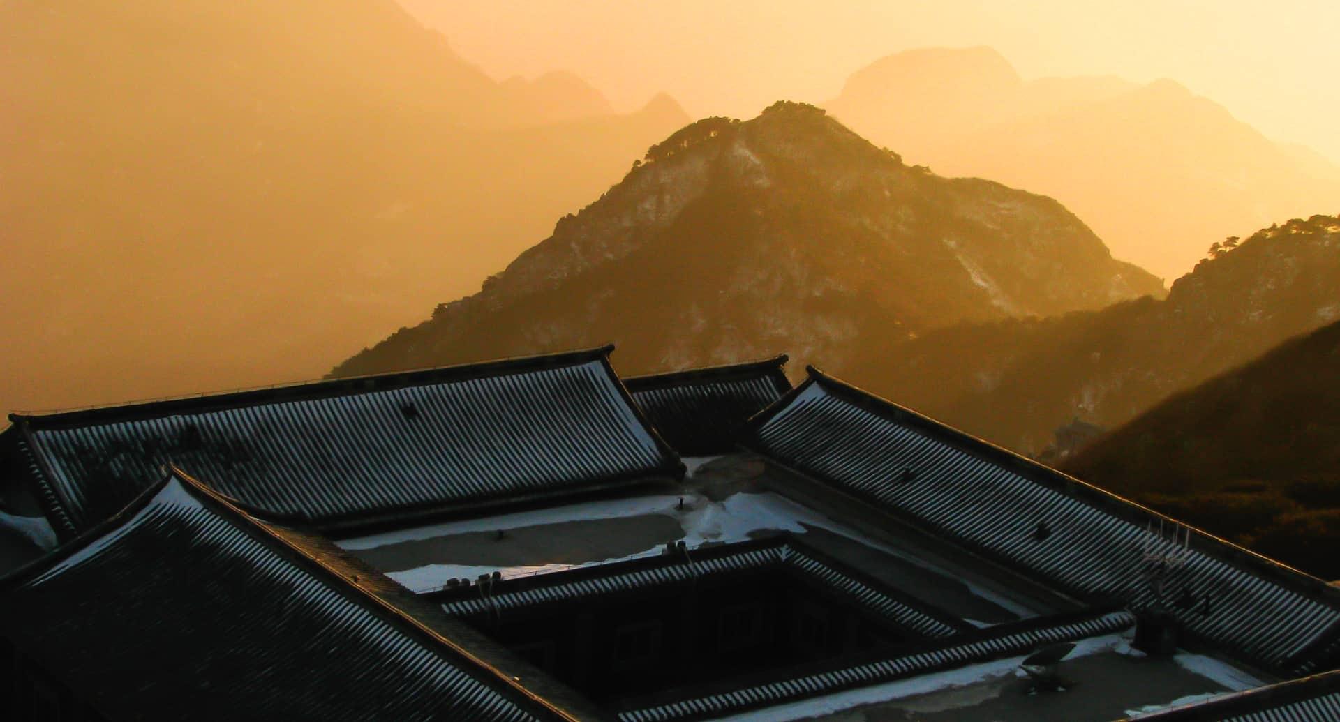 Hiking Taishan China