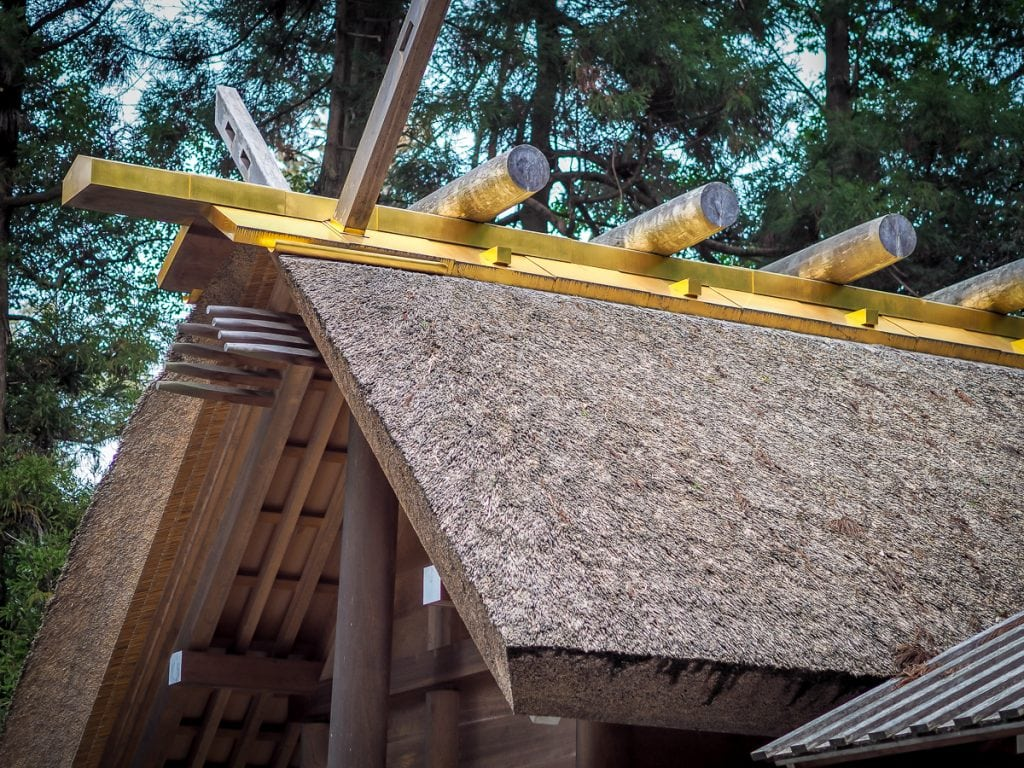 Shinto architecture at Ise Grand Shrine