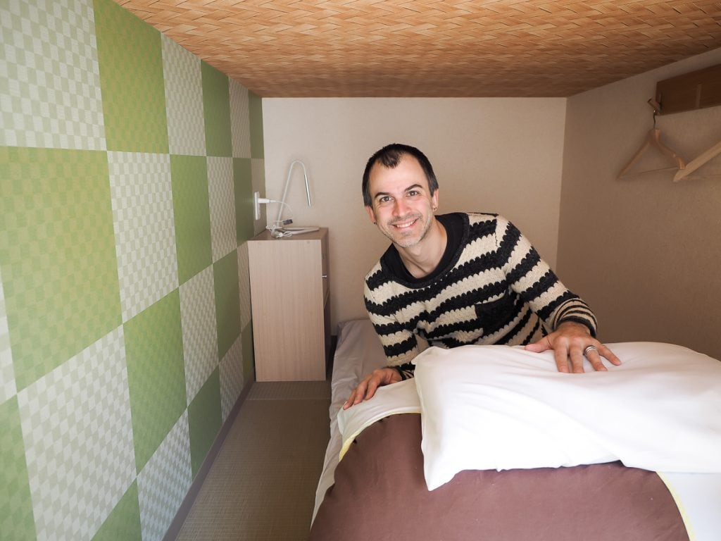 J-Hoppers Kumano Yunomine dorm room