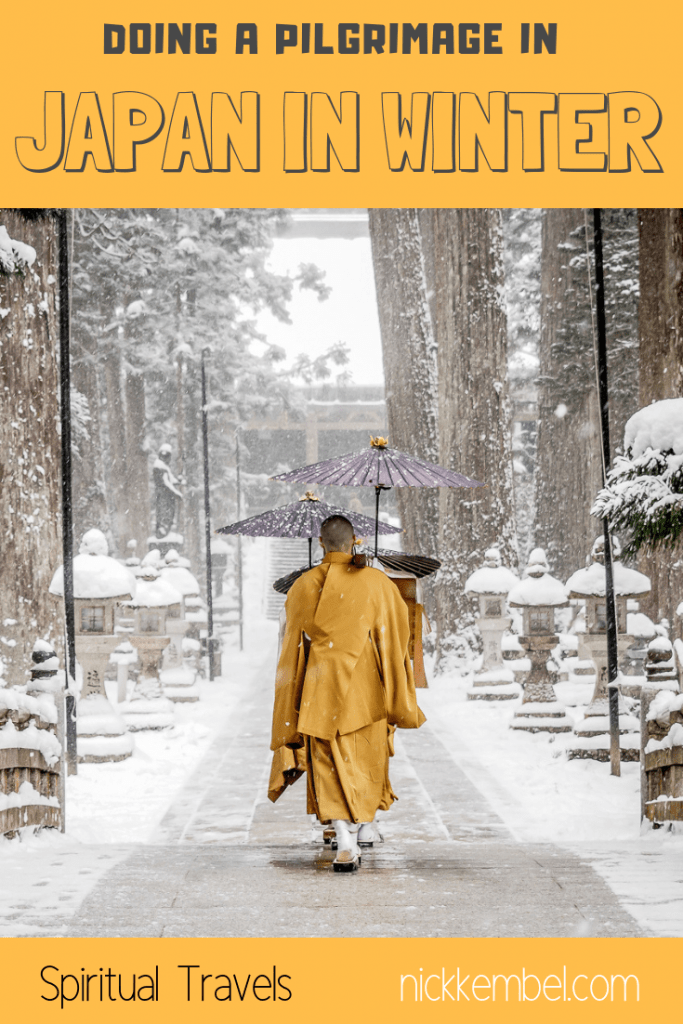 Visiting Japan in winter? The Kumano Kodo pilgrimage is amazing anytime, but especially in winter #japaninwinter #japan #kumanokodo #pilgrimage #pilgrimageinjapan #spiritual #spiritualtravel