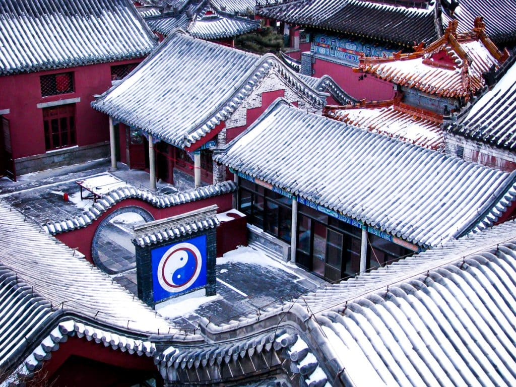 Qingdi Taoist Palace on the summit of Tai Shan