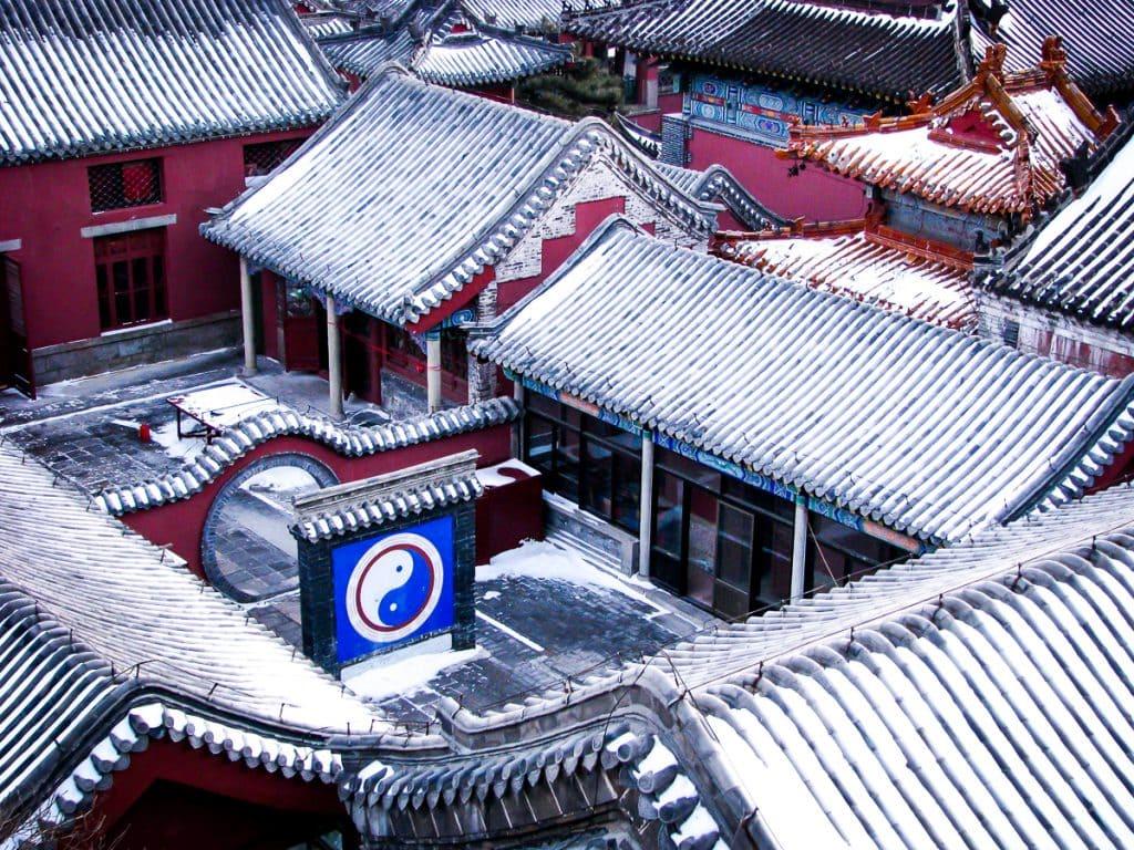 Qingdi Taoist Palace on the summit of Tai Shan