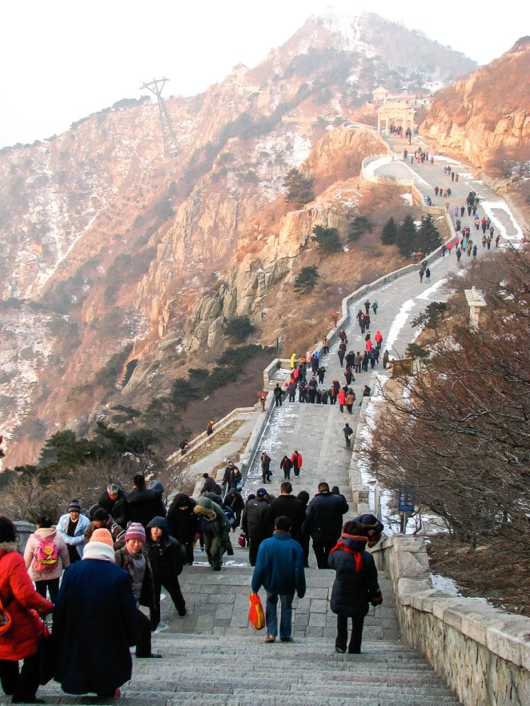Taishan Tian Jie (Heavenly Road)