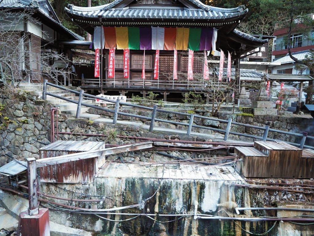 Toko-ji temple, Yunomine, Japan
