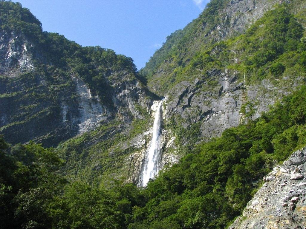 Baiyang Waterfall, Taroko Gorge