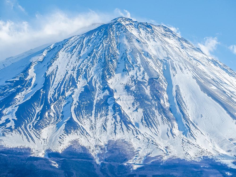 Mt. Fuji summit from Koyo-Dai