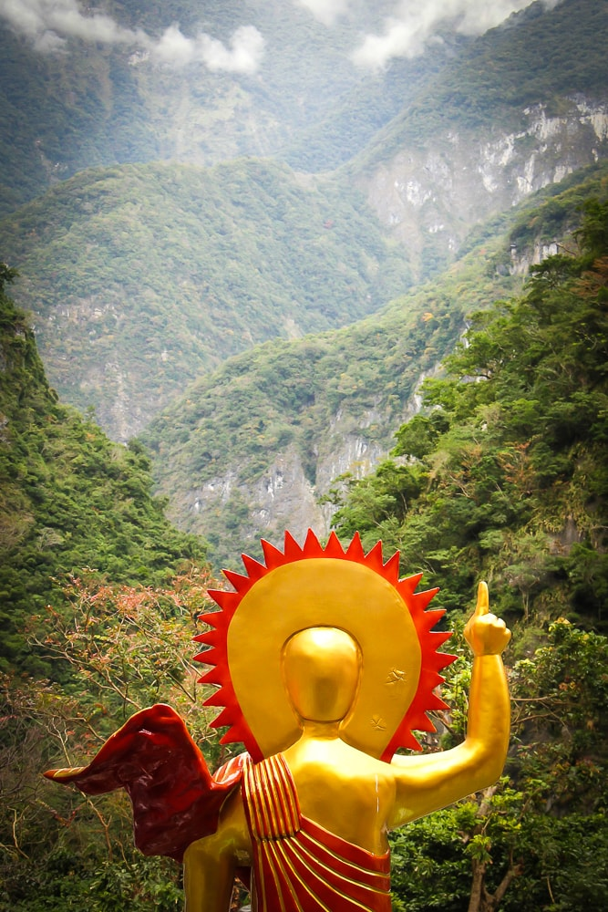 Changuang Bell Tower, Taroko Gorge, Hualien