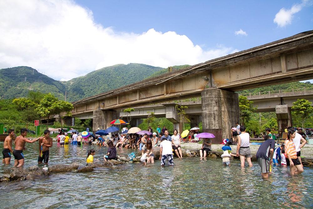 Dong Ao Cold Spring, Yilan, Taiwan