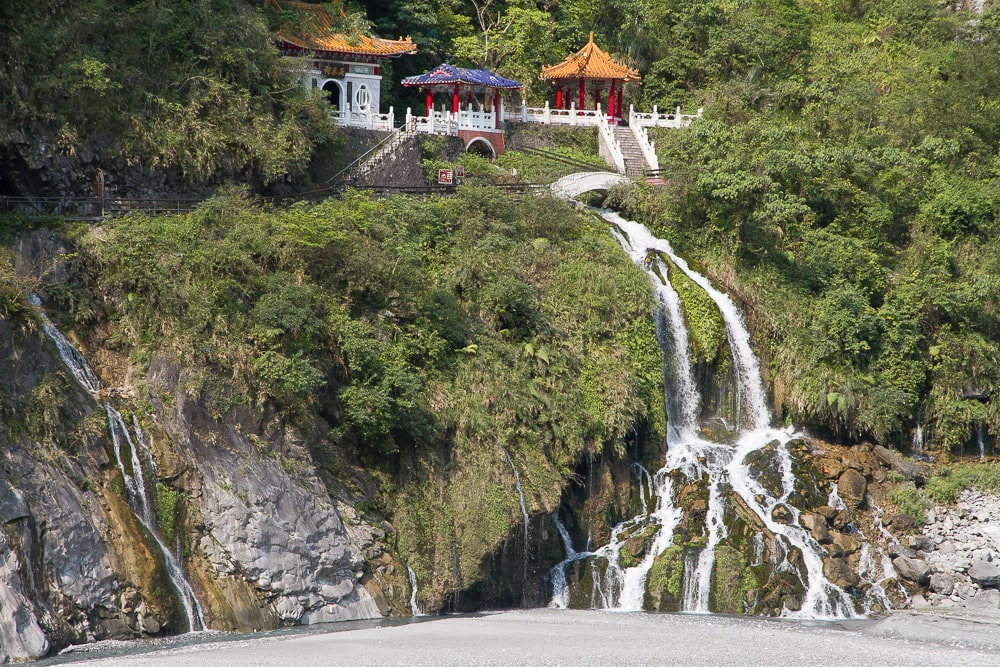 Eternal Spring Shrine, Taroko Gorge, Hualian, Taiwan