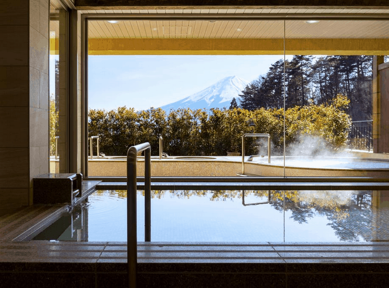 One of the best hotels with views of Mount Fuji