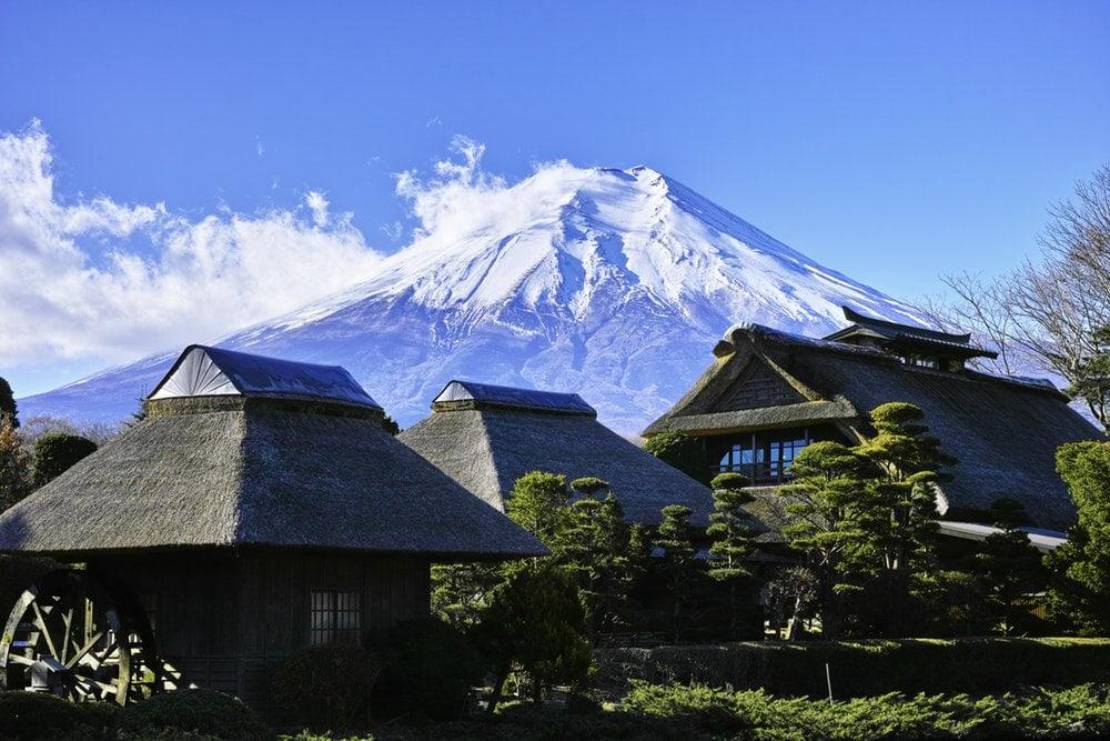 Iyashi-no-Sato, Mt. Fuji