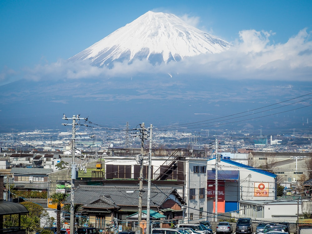 Shin-Fuji train station, one of the best places to see Mt. Fuji
