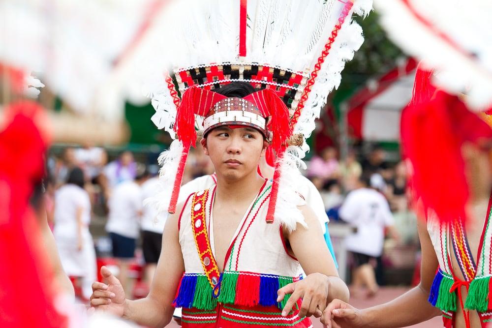 Taiwanese aboriginals, aboriginal festival in Hualian, Taiwan