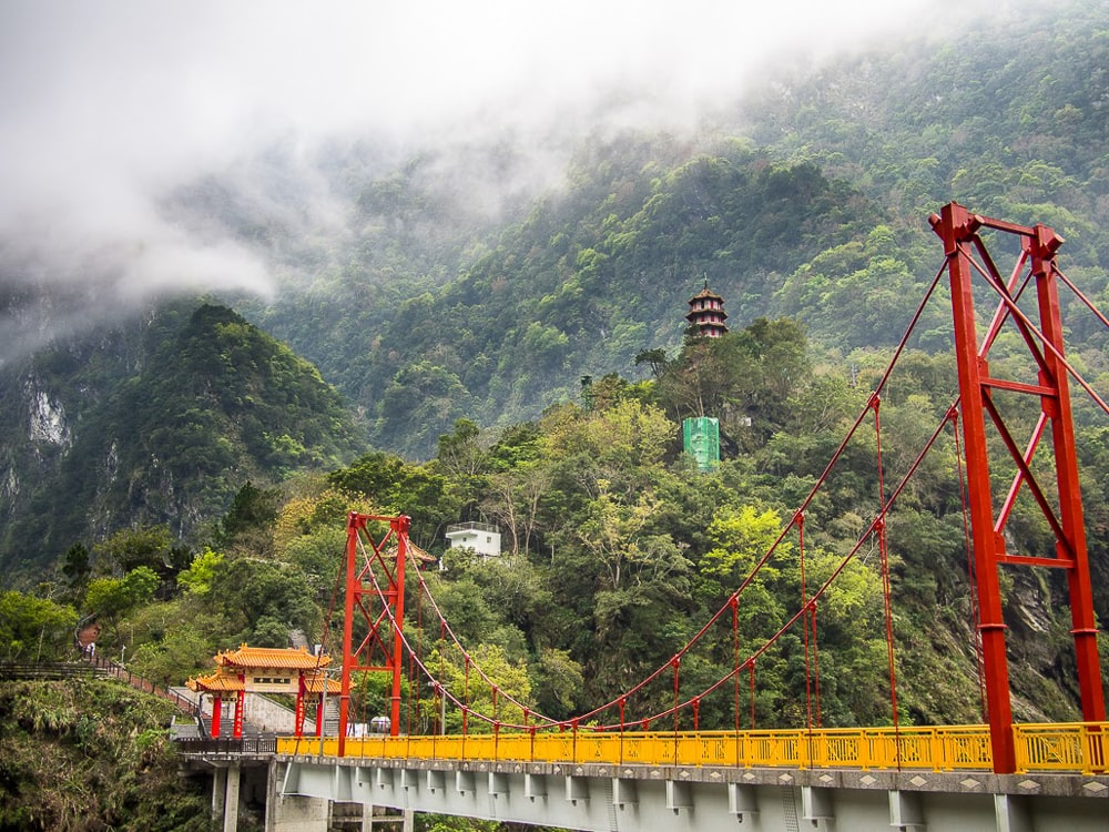 Taroko Gorge, one of the best places to visit in Taiwan in March