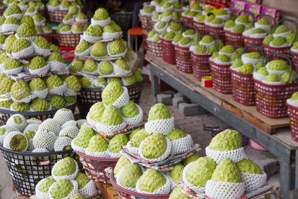 Custard Apples, Taitung