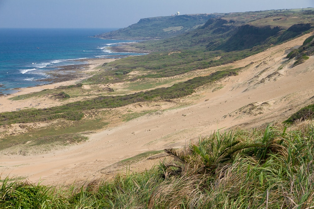 The coast of Kenting in Southern Taiwan