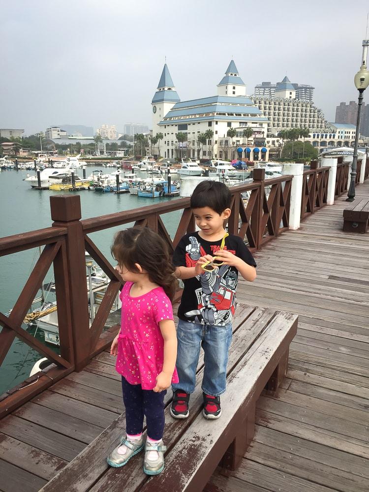 Fisherman's Wharf, Danshui, Taiwan