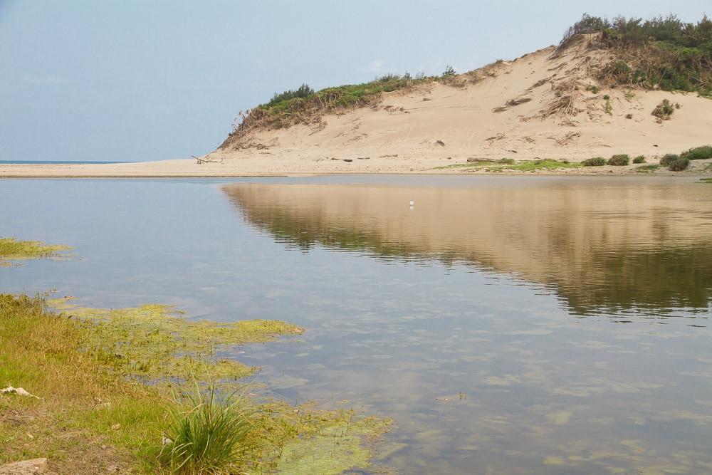Sand Dunes, Gangzi aka Jiupeng Desert, near Kenting National Park