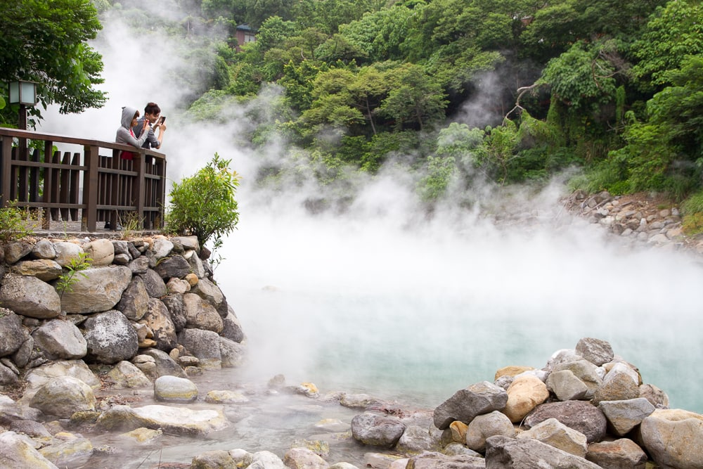 Beitou Hot Spring, one of the best things to do in February in Taipei