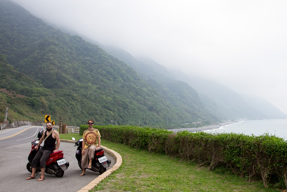 Highway 11 from Hualien to Taitung, Taiwan