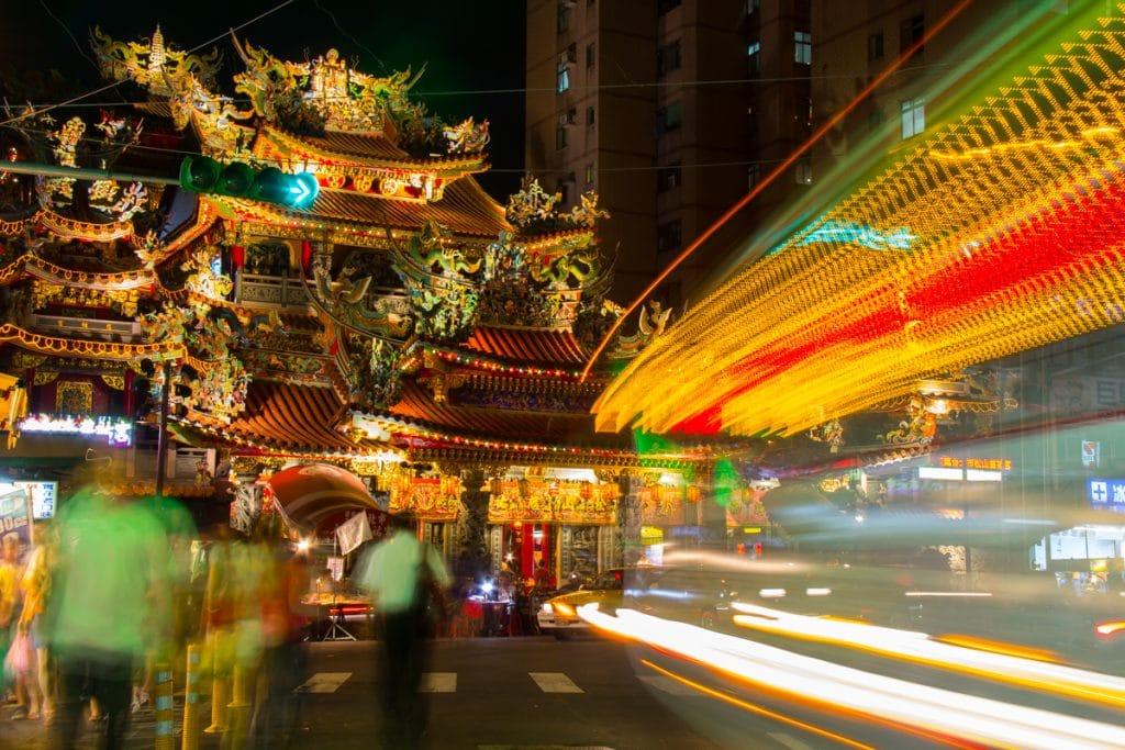 Matsu Temple, Raohe Night Market, Taipei