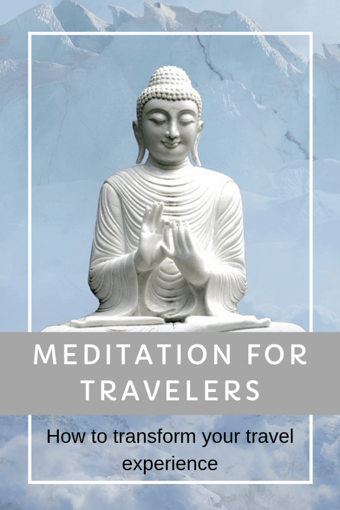 Try this super simple meditation for travelers. It can be done anywhere, anytime, and will totally change how you experience a destination #meditation #travelmeditation #mindfulness #breathmeditation #breathingmeditation