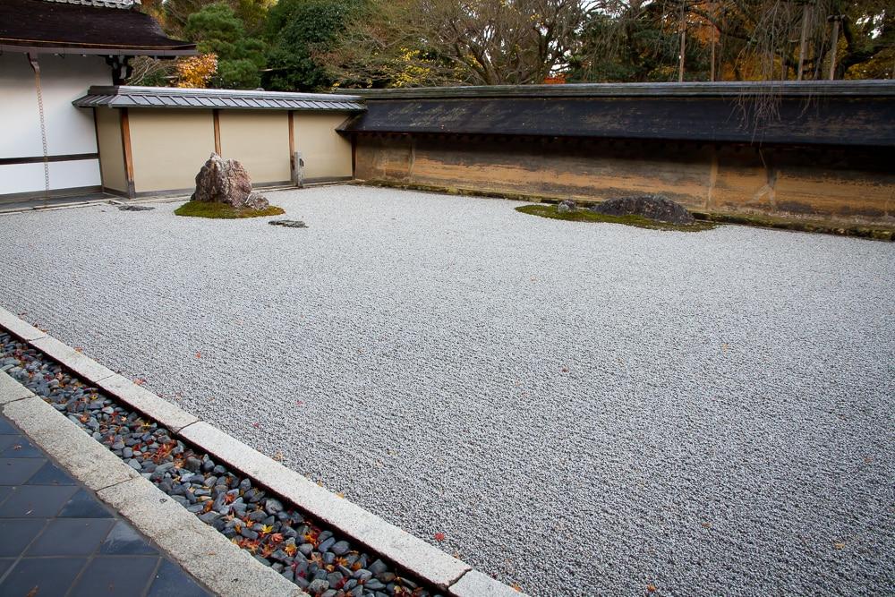 Rock garden, Ryoan-ji, Kyoto