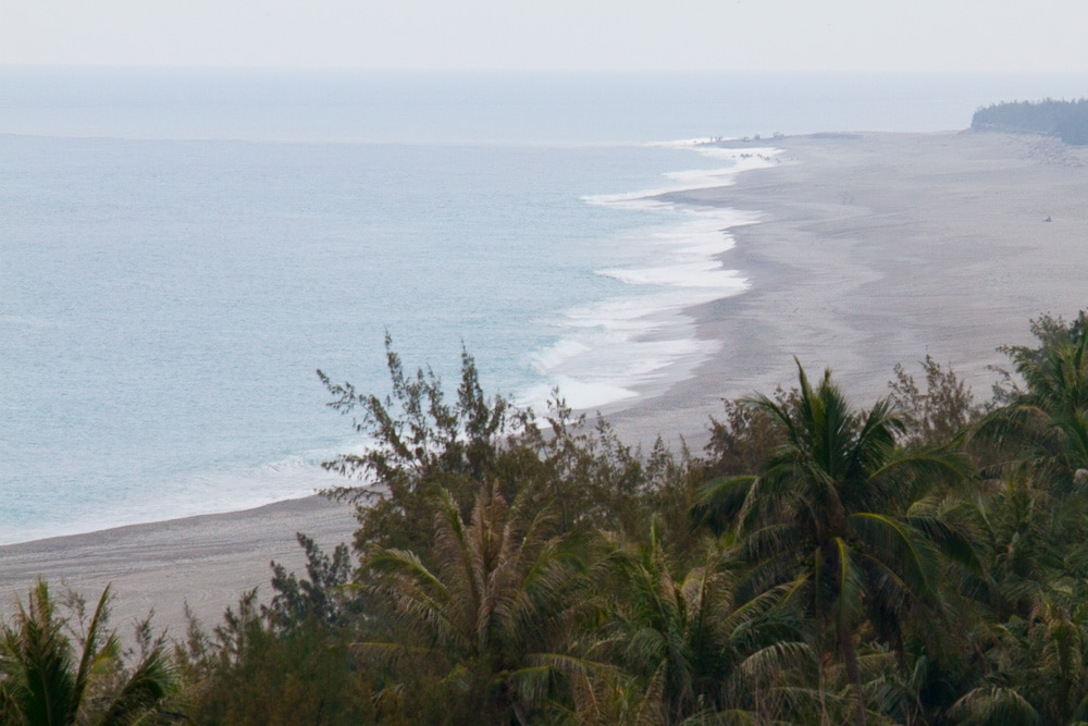 Taimali Beach, on the route from Taitung to Kenting