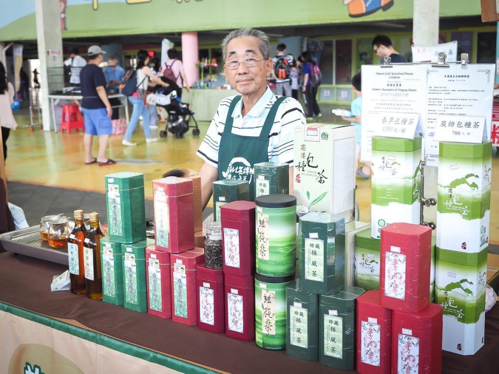 Maji Square Yuanshan Farmer's Market, Taipei