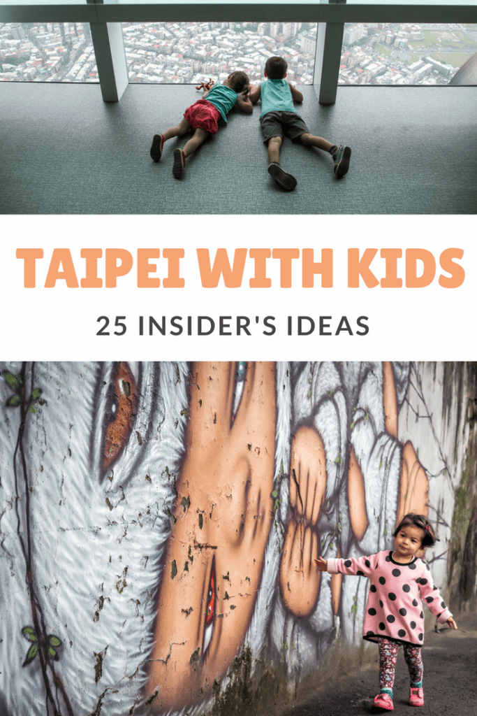 Here are 25 super fun things to do in Taipei with kids! These Taipei attractions for kids are fun for adults, too! #taipeiwithkids #taipei #taiwan #taiwanwithkids