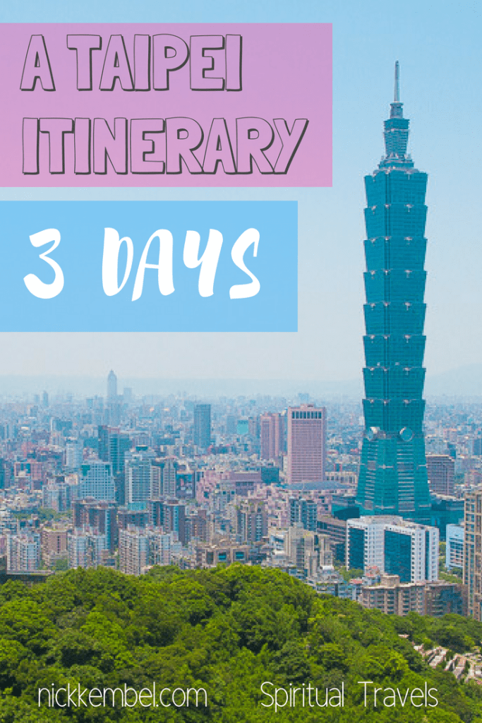 Doing Taipei in 3 days? Let me plan it for you. I'm a Taipei expert, and this is my recommended Taipei itinerary: 3 days #Taipei #Taiwan #Taipeiitinerary