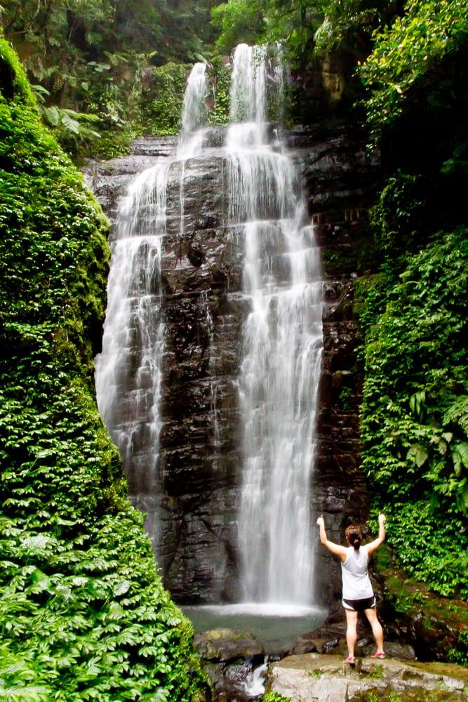 Yuemeikeng Waterfall, Jiaoxi (Jiaosi), Yilan, Taiwan