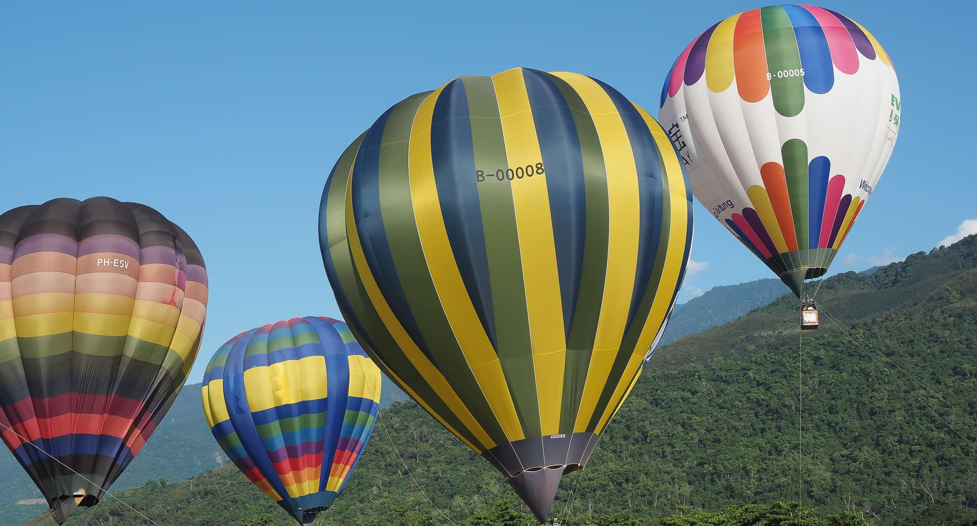 Luye Taiwan and the Taitung Hot Air Balloon Festival