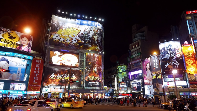 Ximending, one of the best areas to stay in Taipei