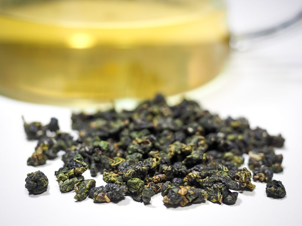 Alishan high mountain jinxuan tea