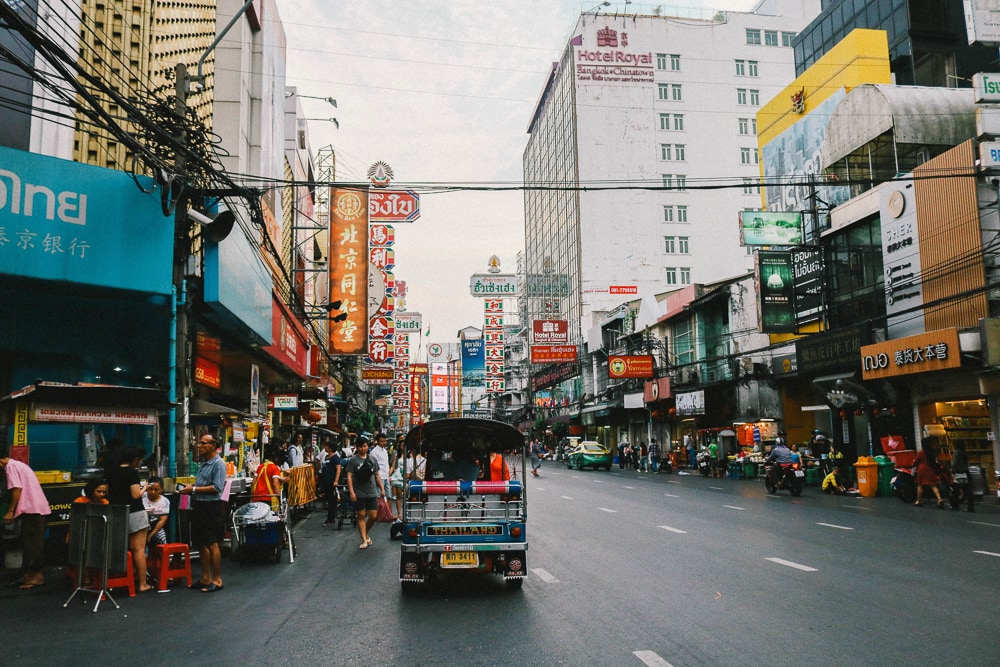 Chinatown Bangkok, the best place to have tea in Bangkok