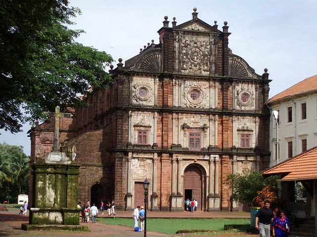 Pilgrimage sites in India: Basilica of Bom Jesus, Goa