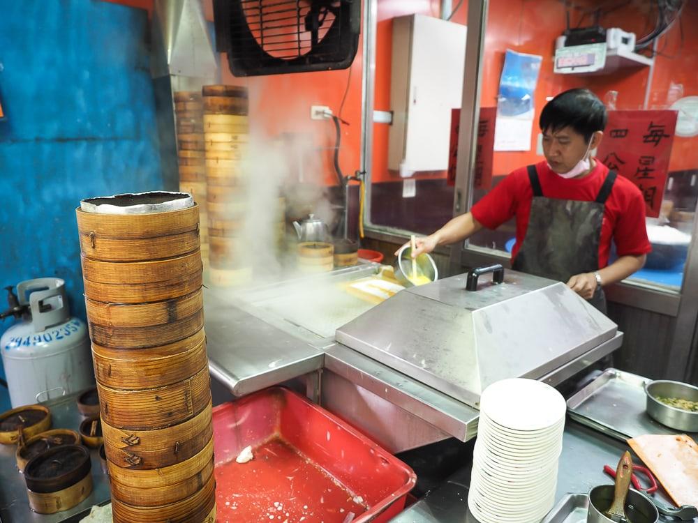 Cheung Yu Restaurant, a great dim sum restaurant in Little Burma, Taiwan