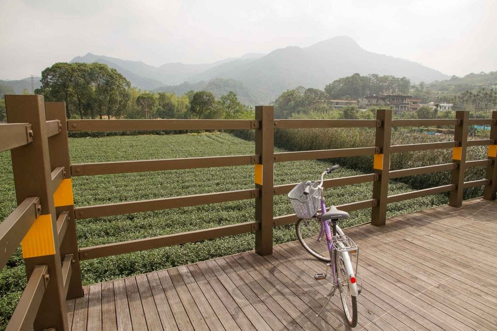 Cycling in Pinglin