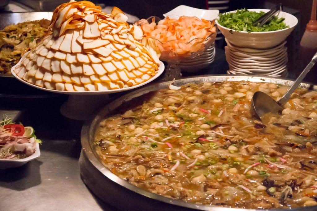 Fish stew at Raohe Night Market