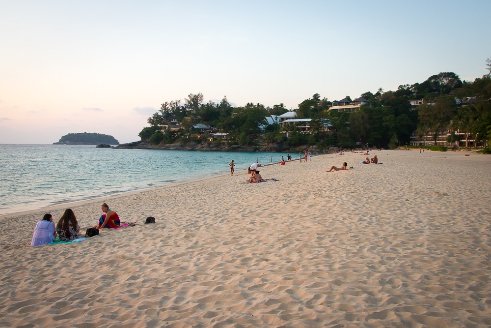 Kata Noi, the best family beach in Phuket