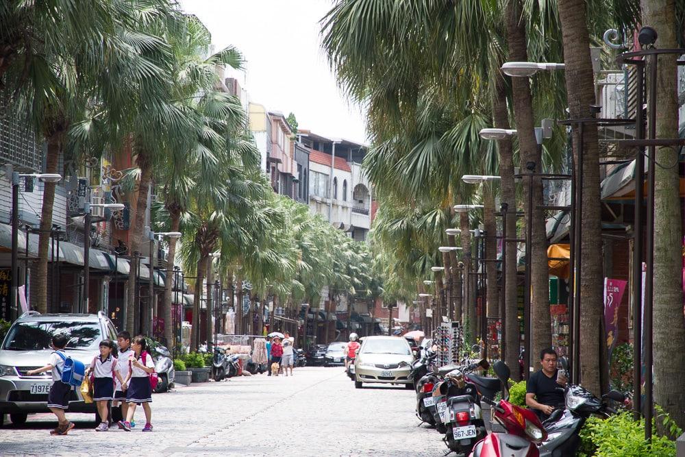 JIanshanpu, main street of the Yingge Old Street (Yingge Ceramics Street)