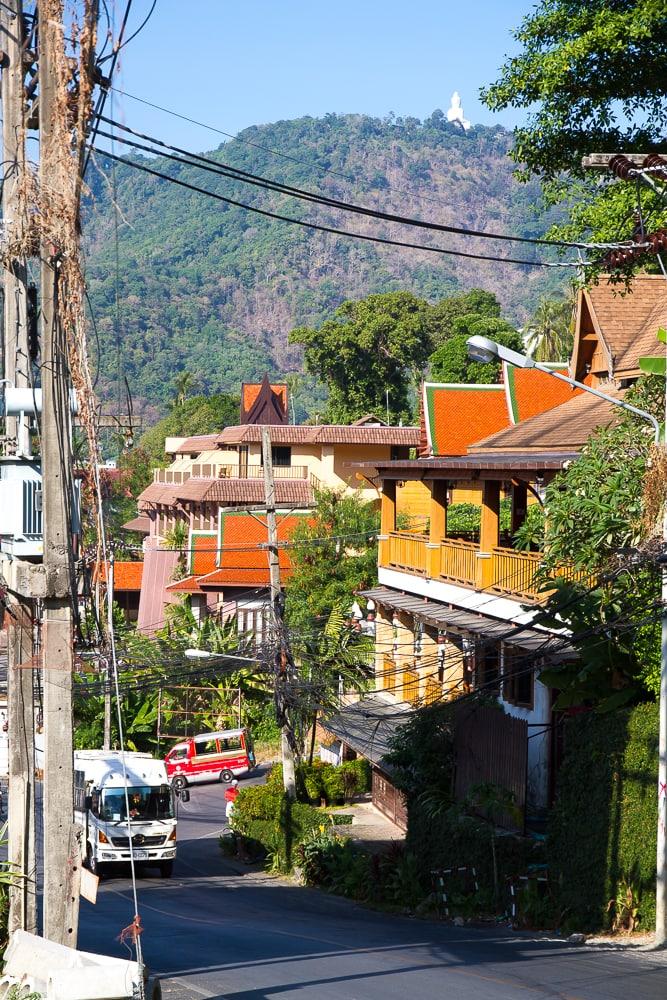Road from Kata Noi to Kata Yai, Phuket