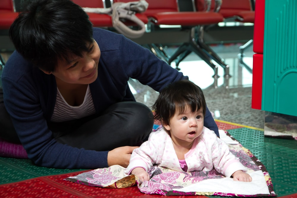 Baby playground at the Taoyuan airport, Taiwan