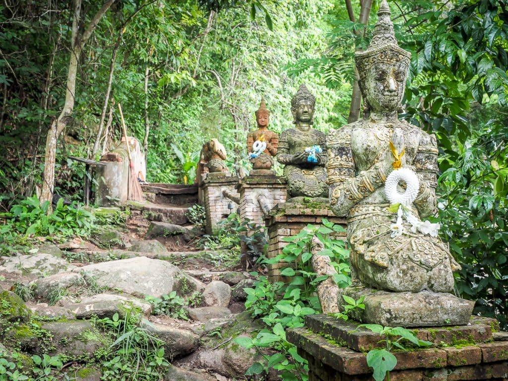 Monk's trail to Wat Pha Lat, Chiang Mai