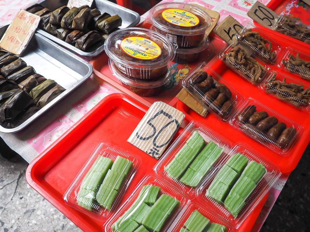 Random foods for sale on Burma Street