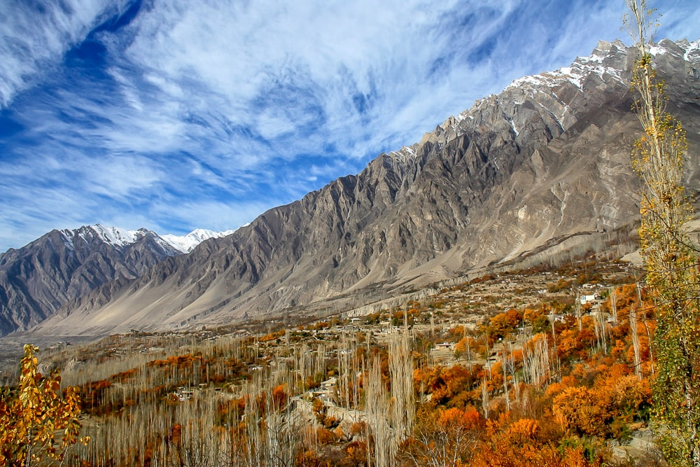 Mountain landscape in Pakistan